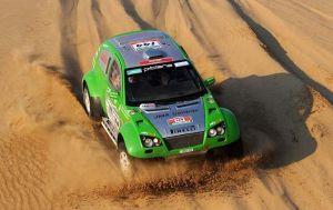 """Benedikto Vanago ekipažas pirmajame """"Silk Way"""" maratone užėmė aukštą 8-ąją vietą (c) Vanagas Racing archyvo nuotr."""