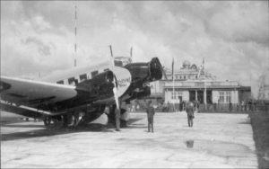 """Junkersas perone (c) """"Aviacijos pasaulis"""" archyvo nuotr."""