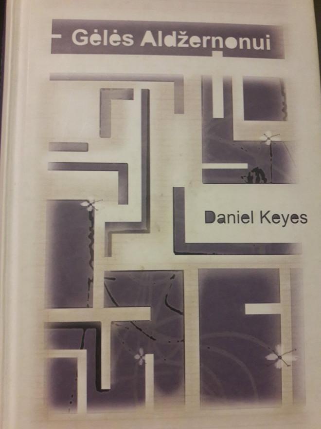 Daniel Keys Geles Aldzernonui knyga romanas