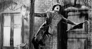 "Kadras iš kino filmoi ""Singin in the rain"" (1951 m.)"