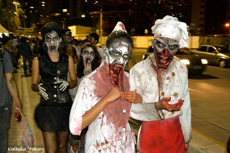 все картинки настоящих зомби хочет яркость