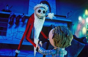 "Animacinio filmo ""The Nighmare Before Christmas"" kadras"