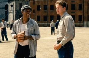 "KIno filmo ""Shawshank redemption"" kadras"