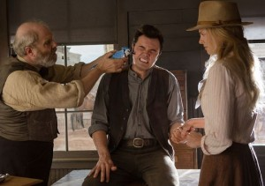 "Kino filmo ""A Million Ways to Die in the West"" kadras"