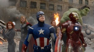 "Kino filmo ""The Avengers"" kadras"
