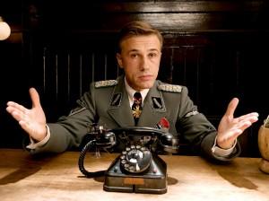 "Kino filmo ""Inglourious Basterds"" (2009) kadras"