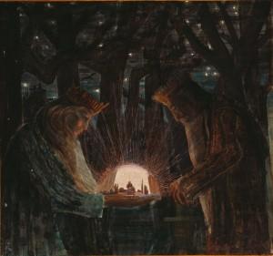 Pasaka (Karalių pasaka) M.K Čiurlionis © Wikimedia Commons archyvo nuotr