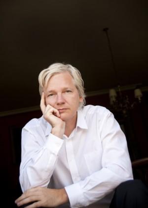 Julian Assange / Allen Clarke nuotr.