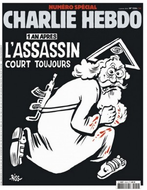 """Žurnalo """"Charlie Hebdo"""" viršelis"""