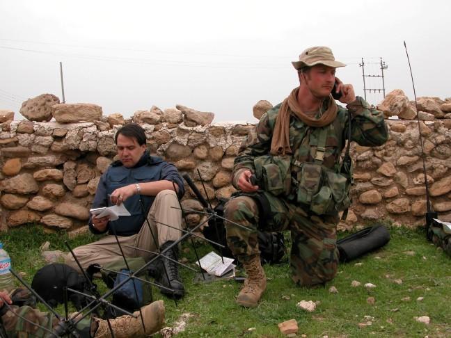 C. Kline (kaireje) Ain Sifni, Siaures Irake esanciose kapinese