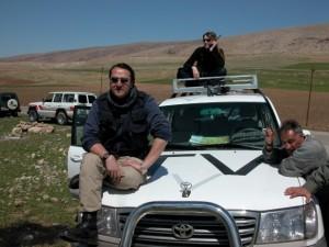 C. Kline (kairėje) Šiaurės Irako aerodrome / Asmeninio archyvo nuotr.