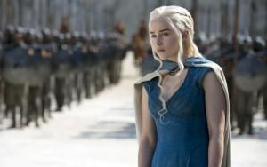 "Serialo ""Game of Thrones"" kadras"