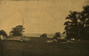 """Lėktuvas """"Dobi III """" po katastrofos 1926 m."""