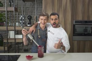 Gian Luca Demarco (dešinėje) ir  Deivydas Praspaliauskas (TV 3 archyvo nuotr,)