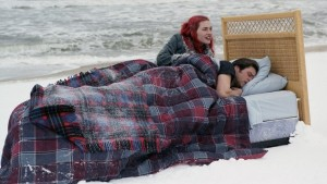 "Kino filmo ""Eternal Sunshine of the Spotless Mind""{ kadras"
