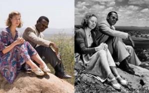 Davidas Oyelowo ir Rosamund Pike įkūnijantis Seretse Khama ir jo žmoną, Ruth Bechuanalande, dabartinėj Botsnoje,  1950 m.