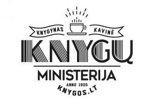 """© """"Knygų ministerijos"""" logotipas"""
