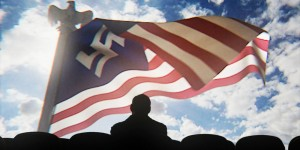 "Televizijos serialo ""The Man in the High Castle"" kadras"
