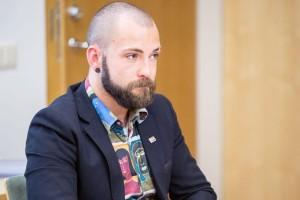 Tomas Vytautas Raskevičius. Augusto Didžgalvio nuotr. / Manoteisės.lt
