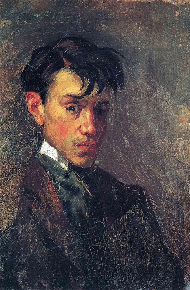 1-picasso-self-portrait