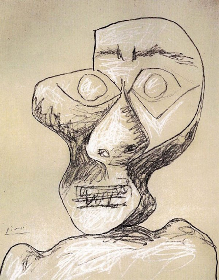 13-picasso-self-portrait