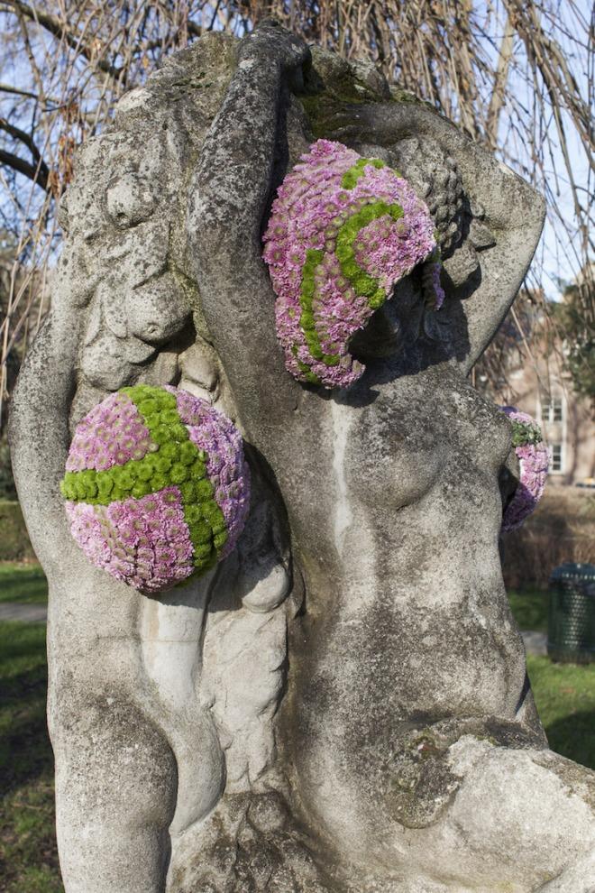 Les saisons 01-2016 de Joseph Witterulghe la mère et un enfant Parc de l'Abbaye de Forest, ch. de Bruxelles 1190 Forest