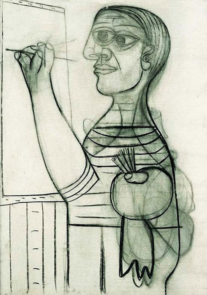 7-picasso-self-portrait