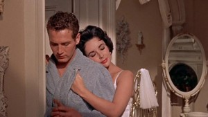 "Kino filmo ""Cat on a Hot Tin Roof"" kadras"