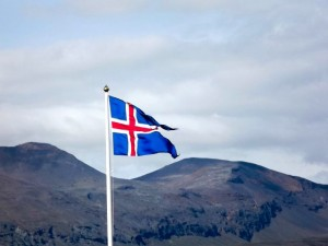 Islandijos vėliava. Parquetn nuotr./Flickr.com