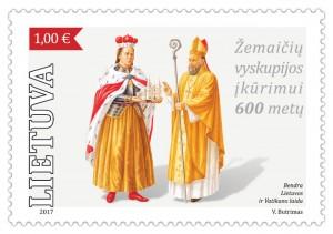 Zemaiciu yskupijos ikurimui – 600 metu