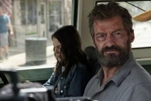 """Kino filmo """"Logan""""  kadras"""