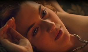 "Kate Winslet / Kino filmo ""Titanic"" kadras."