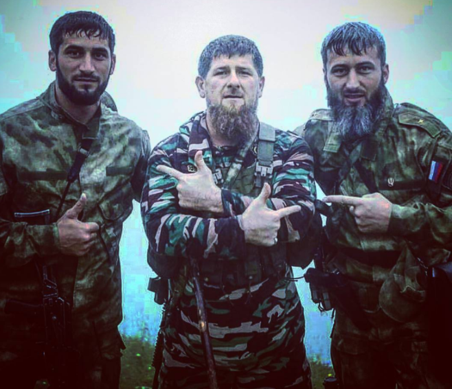 Ramzanas Kadyrovas 2
