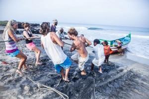 """© Berta Tilmantaitė """"Surfing India"""""""