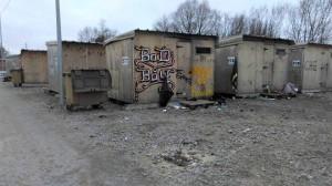 Pabėgėlių priebėgos Grande-Synthe stovykloje. R. Mitkutės asmeninio albumo nuotr.