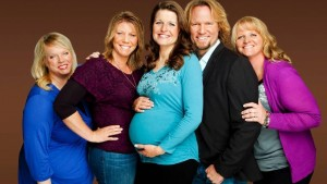 """TV šou apie poligaminę šeimą """"Sister Wives"""" kadras"""