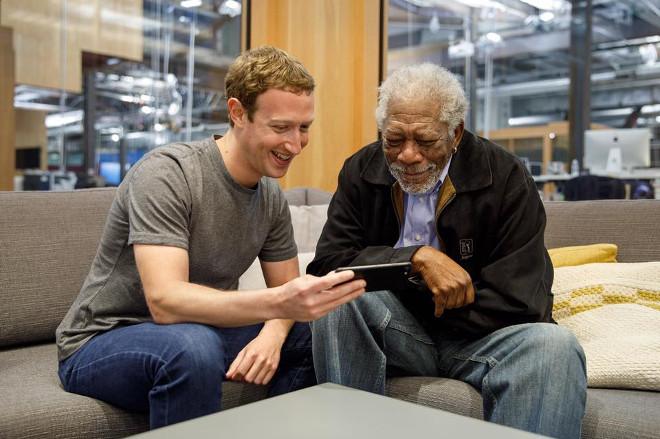 Markas Zukerbergas foto