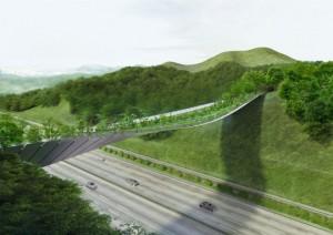 Projekto autorių nuotr./Lietuvos architektų ekologiško pėsčiųjų tilto projektas