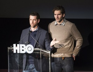 David Benioff and D.B. Weiss /  © Wikimedia Commons archyvo nuotr.