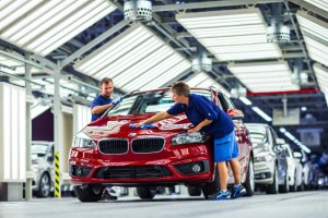 BMW gamykla Leipcigas / Organizatorių archyvo nuotr.