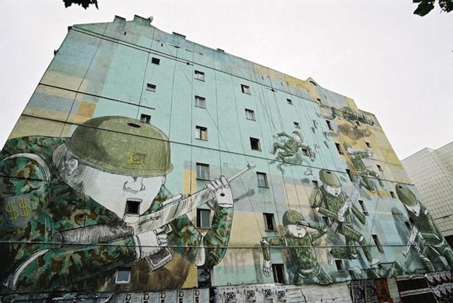 Blu-street-art-murals