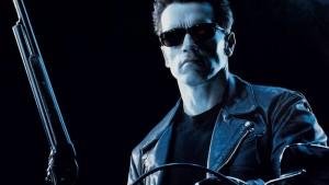 "Filmo ""Terminatorius"" kadras"
