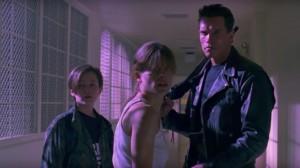 """Kino filmo """"Terminator 2"""" kadras"""