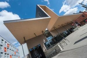 Kauno autobusų stoties fasadas / Organizatorių archyvo nuotr.