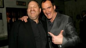 Harvey Weinsteinas (kairėje) ir Kventinas Tarantinas