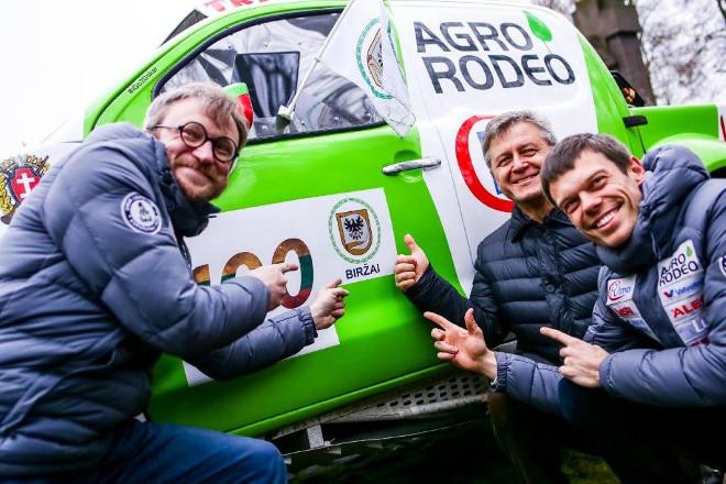 Agrorodeo Dakaro ekipazas Birzuose (2)