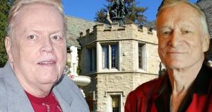 Larry Flyntas (kairėje)  ir Hugh Hefneris