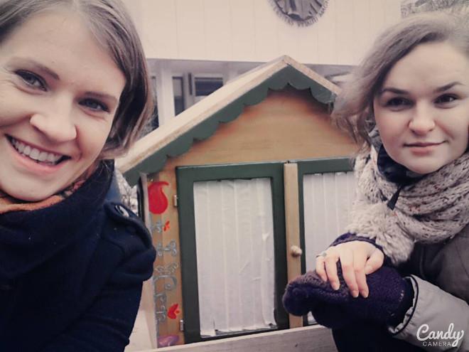 Indre Levickyte ir Greta Rozenbergaite