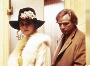 """Kino filmo """"Paskutinis tango Paryžiuje"""" kadras"""