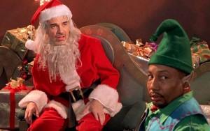 """Filmo """"Bad santa"""" kadras"""